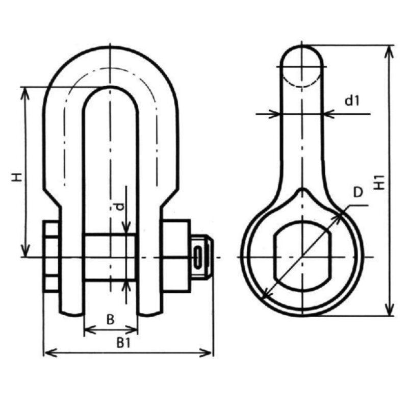 Размеры скобы СК и СКД расшифровка наименованиий