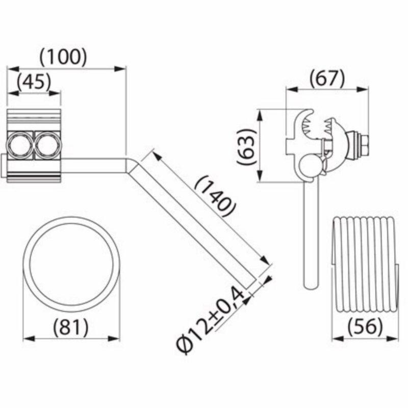 Устройство защиты от дуги Ensto SE20.2