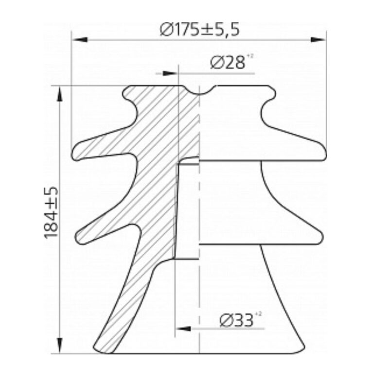 ШФ-20Г Изолятор размеры